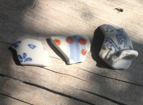 「宝」 陶片のメッセージ